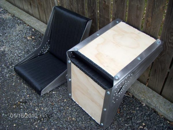 Bomber Style Seat - 1 pair