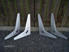 Bomber Style Seat Frame - 2 sets