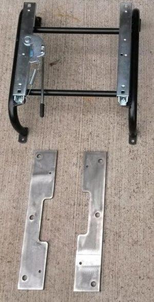 Riser & Slider for 1 Bomber Style Seat