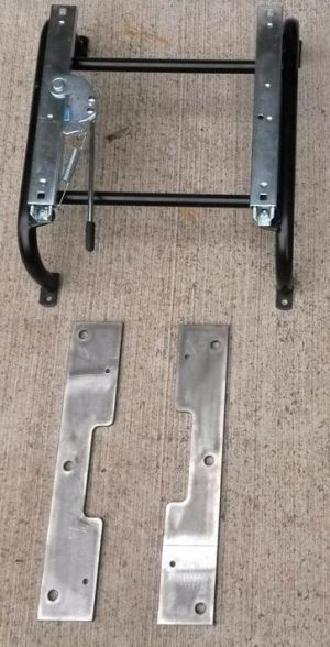Risers & Sliders for 2 Bomber Style Seats