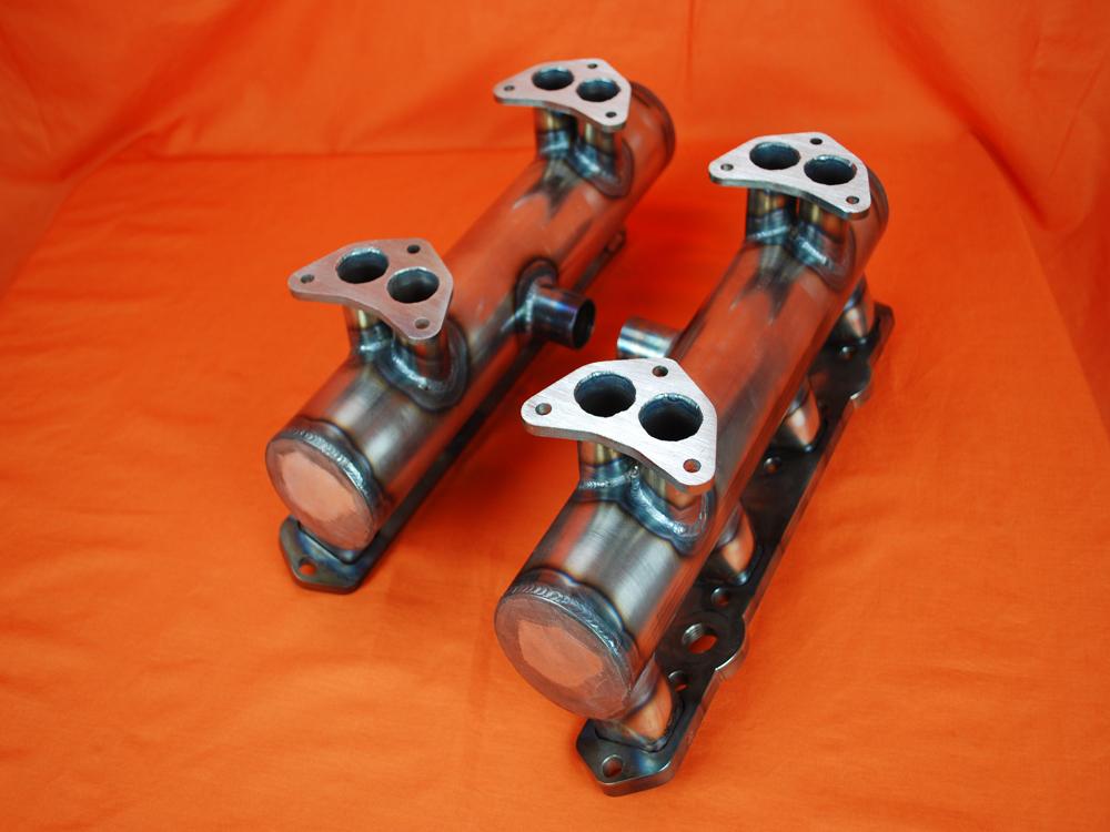 Desoto Hemi 276-345 4x2 Intake for Strombergs