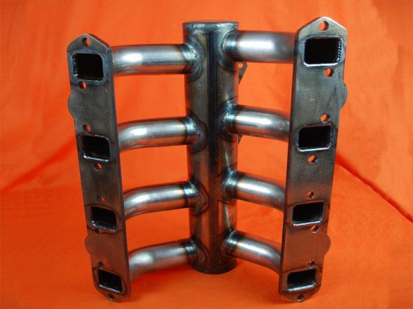 Desoto Hemi 330-345 3x2 Intake for Strombergs