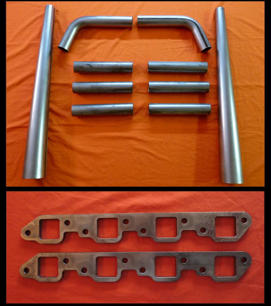 Chevrolet Big Block 396-454 Straight Lake Header Kit