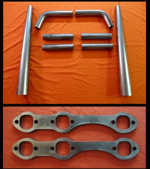 Chevrolet 4.3L V6 Straight Lake Header Kit