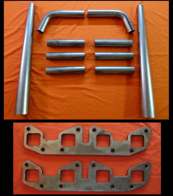 Chrysler Poly 301-354 Straight Lake Header Kit