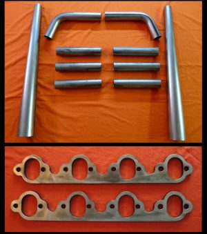 Ford Big Block 429-460 Straight Lake Header Kit