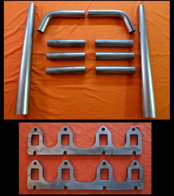 Ford FE 332-390 Straight Lake Header Kit