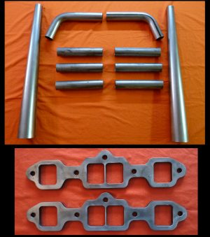 Oldsmobile Big Block 350-455 Straight Lake Header Kit