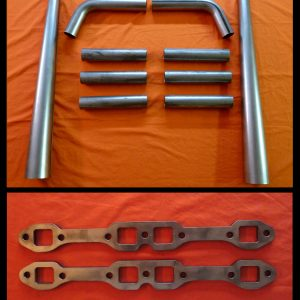 Ford Y-Block 239-312 Straight Lake Header Kit