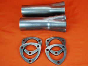 """4 to 1 Formed Merge Collector - 1-3/4"""" to 3"""" with Collector Flanges"""