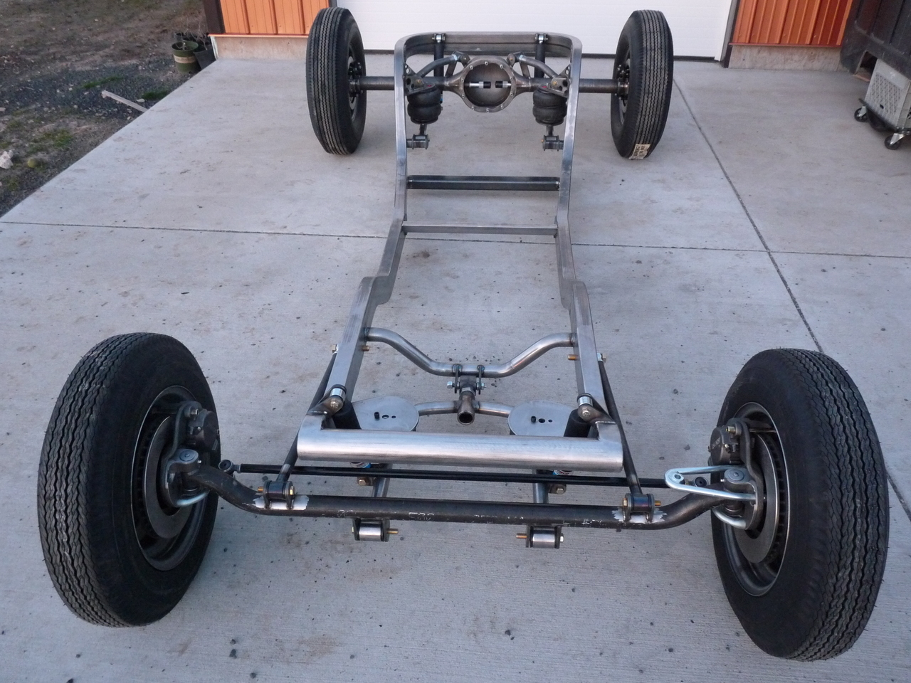 Air Ride Chassis - Ford Model A